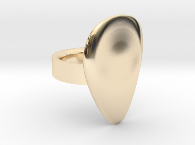 Arc in 14k Gold Plated Brass: 7 / 54