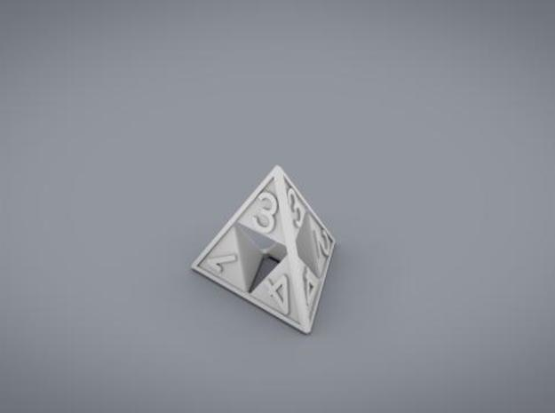 Triforce D4 3d printed