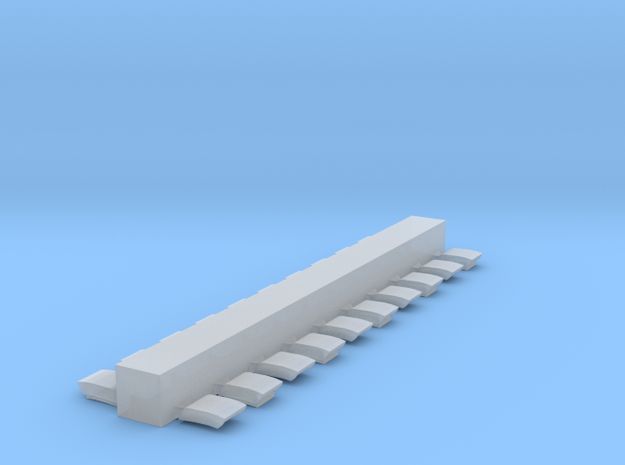 8500 Roof Vents in Smoothest Fine Detail Plastic