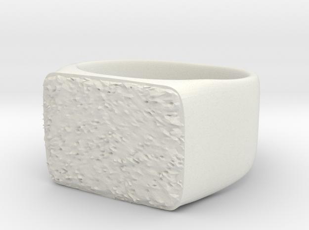 Joker's Rectangle Ring - Plastics in White Strong & Flexible: 7 / 54