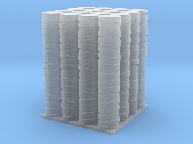 1/64 Pallet of Twine rolls in Smooth Fine Detail Plastic