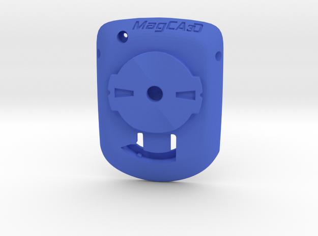 Wahoo Elemnt Bolt to Garmin Edge Adaptor in Blue Strong & Flexible Polished