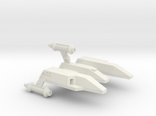 3788 Scale Lyran Yaguarundi Light Carrier CVN in White Natural Versatile Plastic