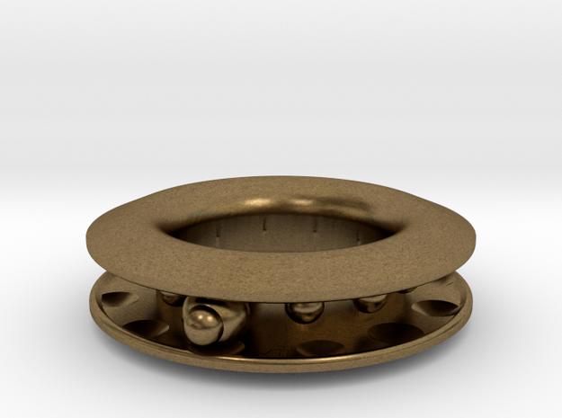 S E E K. in Natural Bronze (Interlocking Parts)