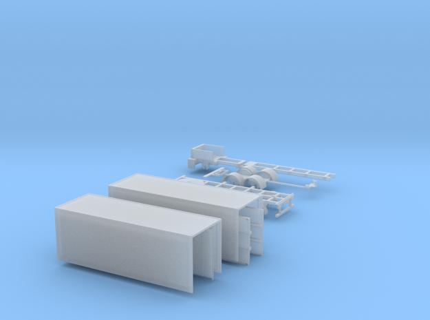 kompletter Kofferhängerzug N 1:160 in Smooth Fine Detail Plastic