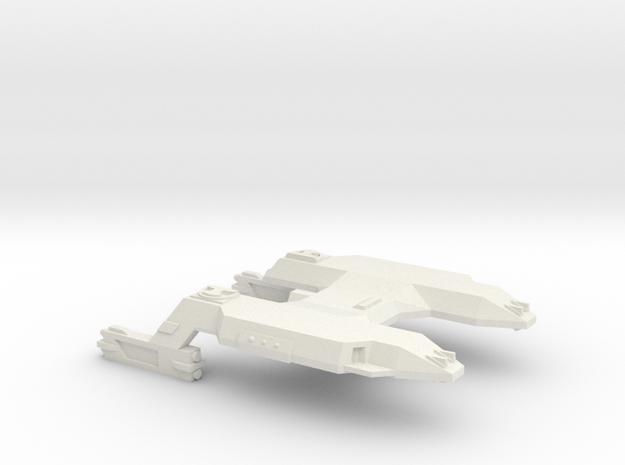 3788 Scale Lyran Siberian Tiger Carrier CVN in White Natural Versatile Plastic