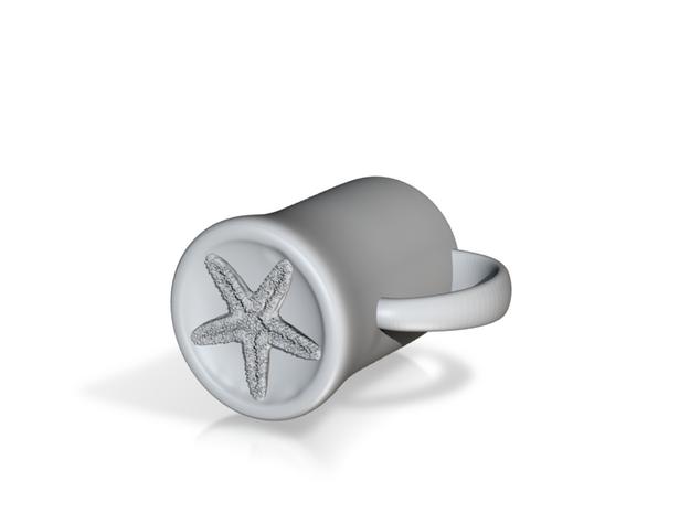 Starfish Mermaid Mug 3d printed