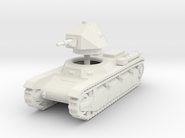 1/72 AMX 38 in White Natural Versatile Plastic