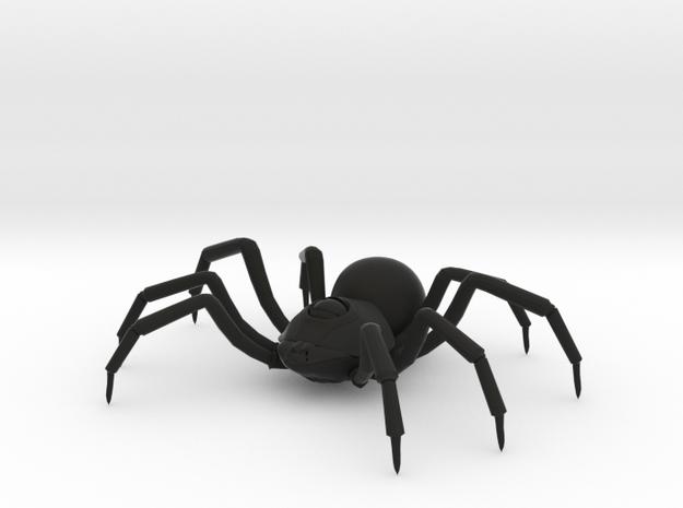 Large Spider in Black Premium Versatile Plastic: Medium