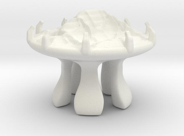 The creationists biodome (2) in White Natural Versatile Plastic
