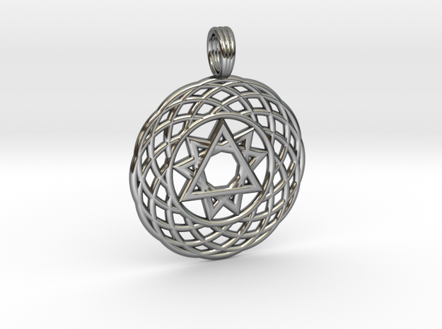 SPHERICORE in Fine Detail Polished Silver