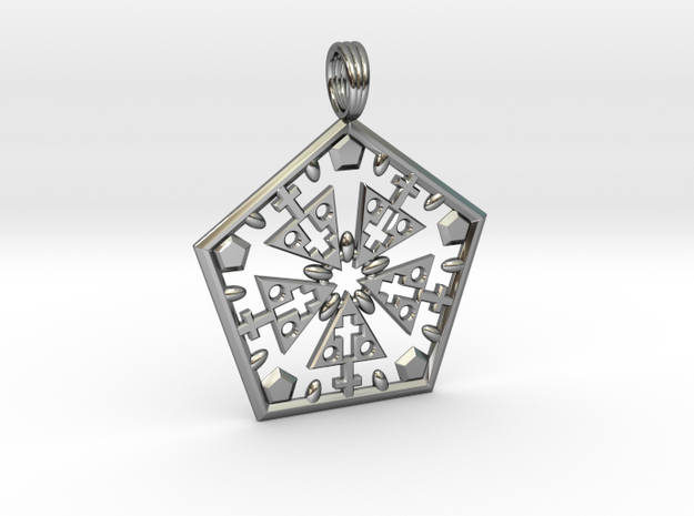 CHRIST WITHIN in Premium Silver