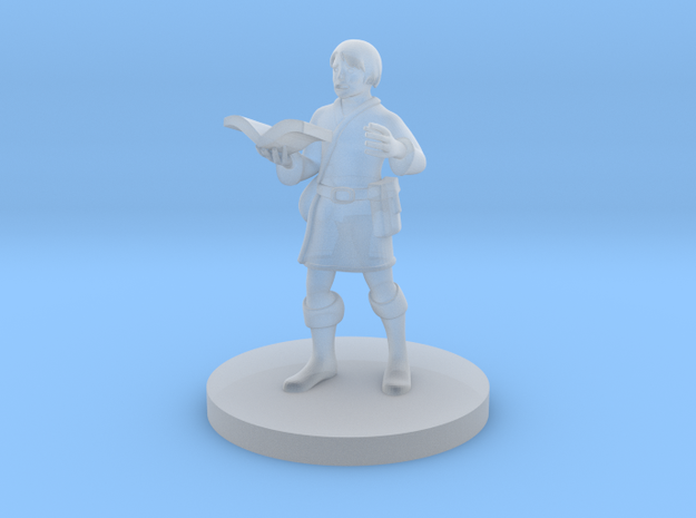 Apprentice Wizard in Smooth Fine Detail Plastic