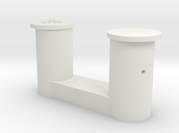 1 bollard small_1 Poller klein 1:50 in White Natural Versatile Plastic