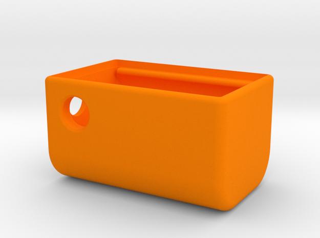 MM Mech Squonk 3P 18650Box in Orange Processed Versatile Plastic
