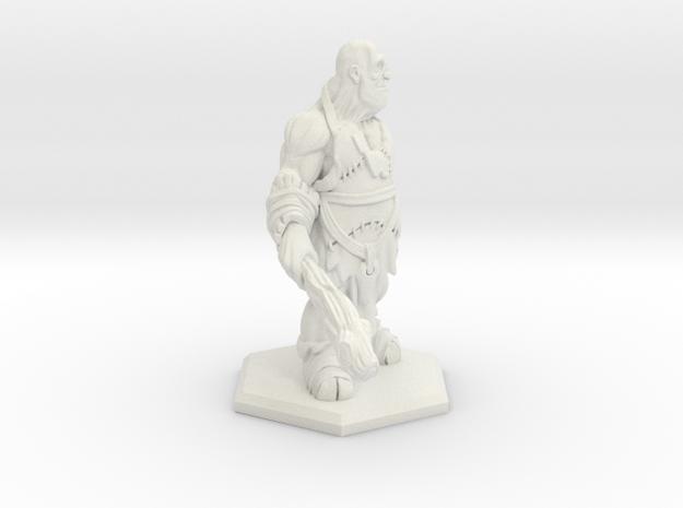 Goliath in White Natural Versatile Plastic