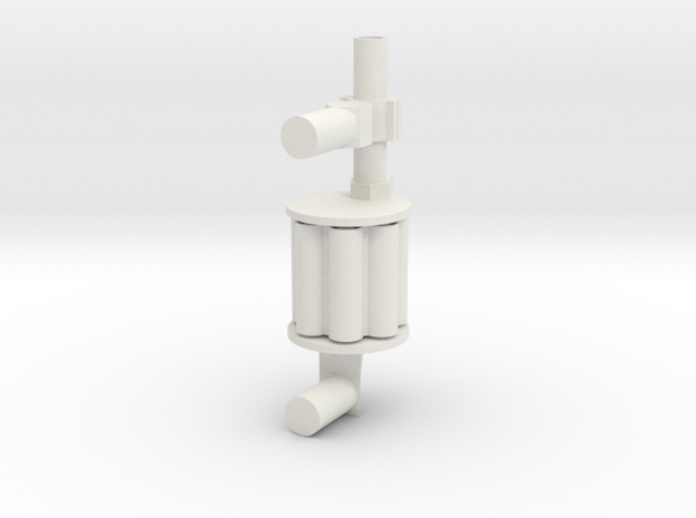 grenade launcher22 in White Natural Versatile Plastic