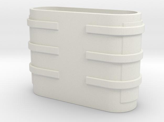 Imperial Army Trooper Bino Main Body in White Natural Versatile Plastic