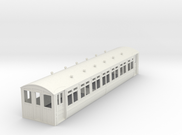o-32-midland-railway-heysham-electric-tr-coach in White Natural Versatile Plastic