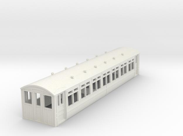 o-76-midland-railway-heysham-electric-tr-coach in White Natural Versatile Plastic