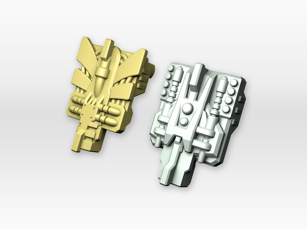 POTP Compatible Overlord Powermaster Plates