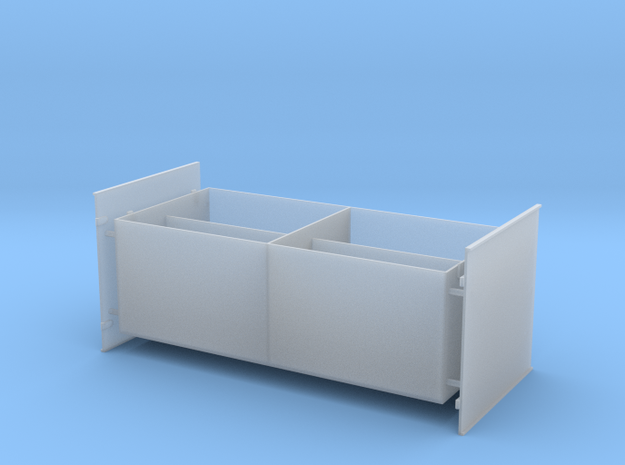 1 to 25 3,7 cm Ammobox in Smooth Fine Detail Plastic