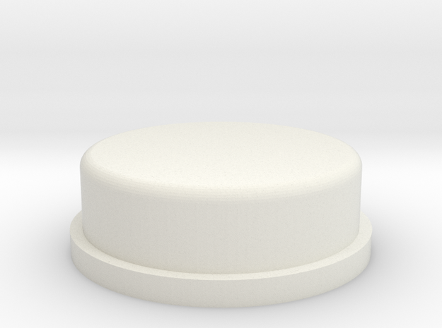 AT-AT Commander Round Edge Hollow in White Natural Versatile Plastic