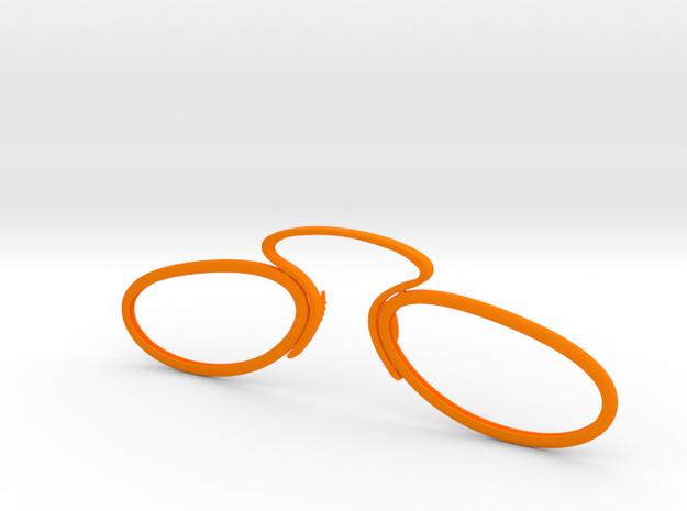 8a in Orange Processed Versatile Plastic