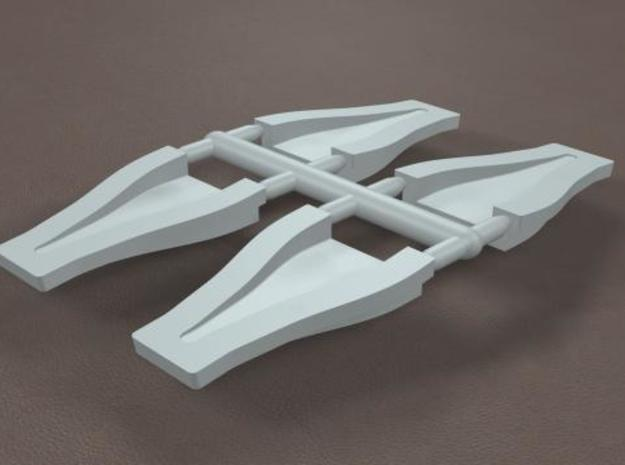 1/12 Scale 2 inch NACA Ducts 3d printed