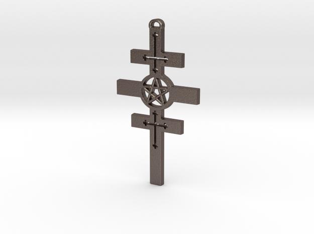 Houssaye Cross in Stainless Steel