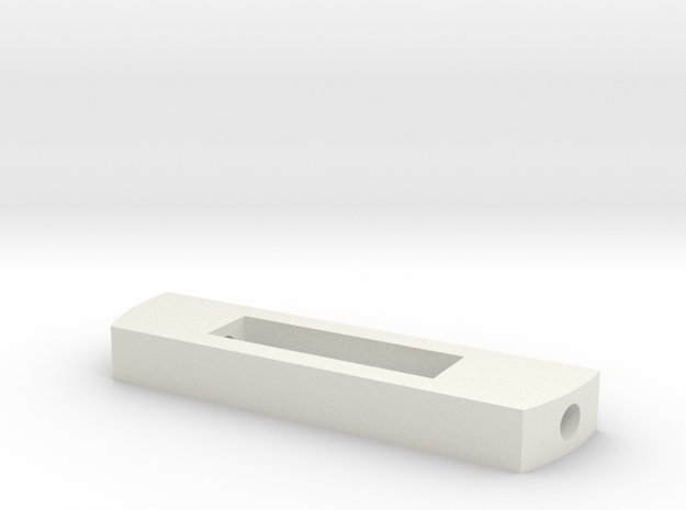 MPP2.0 - Part 2/10 - Battery locking part in White Natural Versatile Plastic