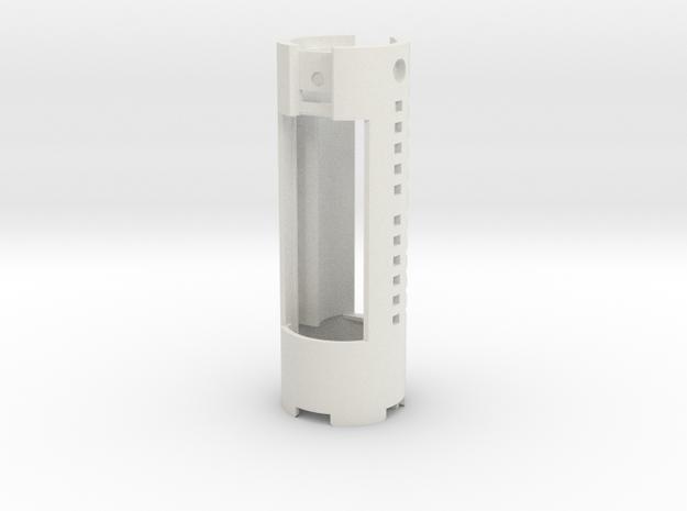 KR Luke Hero - Part 1/4 - Chassis (CF9) in White Natural Versatile Plastic