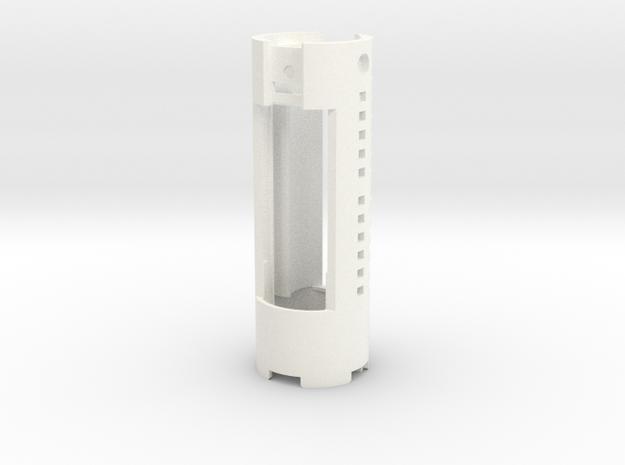KR Luke Hero - Part 1/4 - Chassis (Prizm V5.1) in White Processed Versatile Plastic