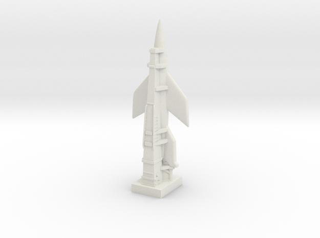 A-4b Rocket (Germany) ICBM in White Natural Versatile Plastic
