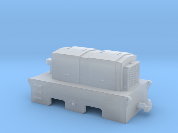 D1 H0e / 009 Diesel tractor in Frosted Ultra Detail