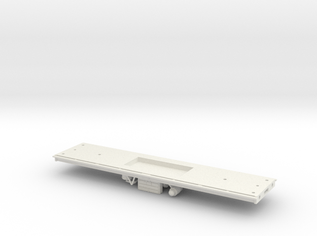 Brake 3rd (387) and all 3rd (394) Chassis, OO in White Natural Versatile Plastic