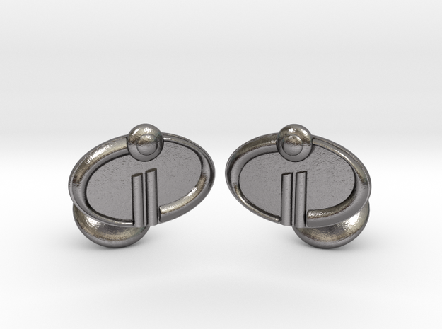The Incredibles 2 Cufflinks in Polished Nickel Steel