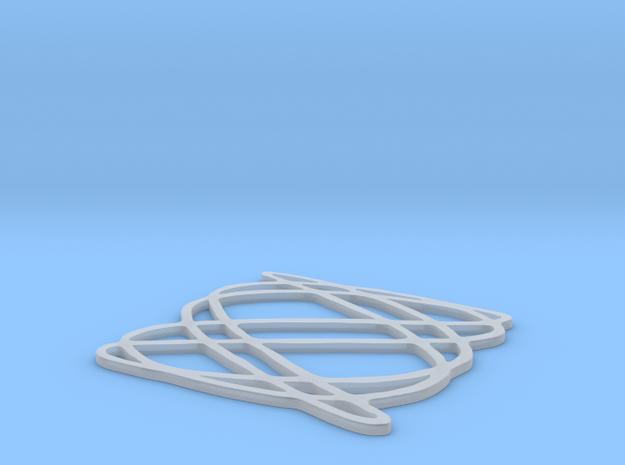 Lissajous coaster 3:5 pi/4
