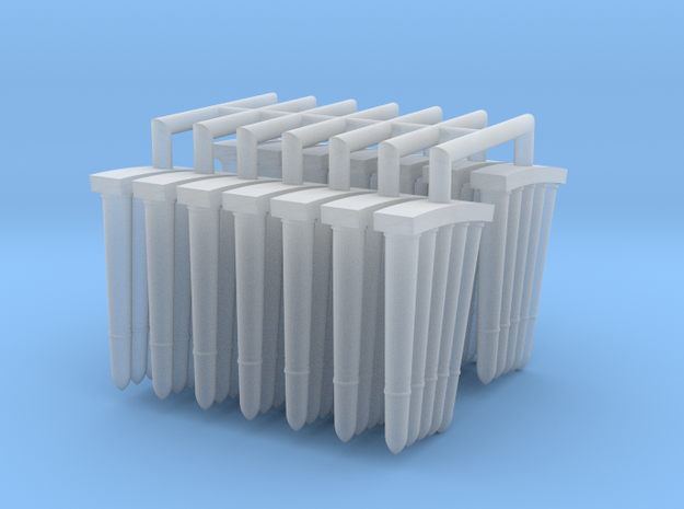 3-7 cm Granades 1 to 25 in Smooth Fine Detail Plastic