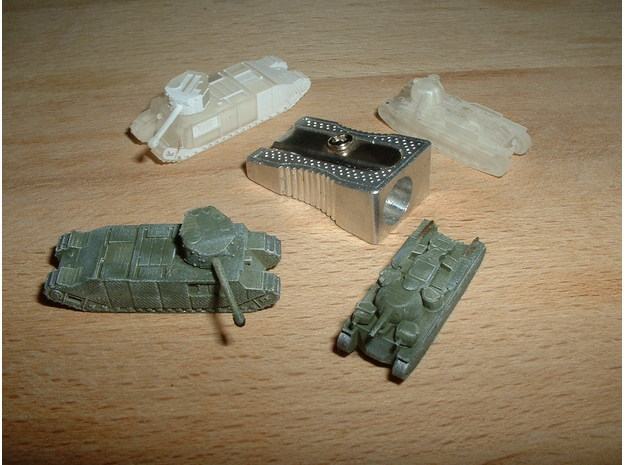 TOG & Independent Heavy Tanks 1/200