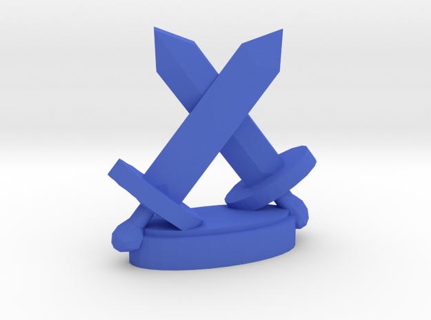 Playfigure Swords in Blue Processed Versatile Plastic