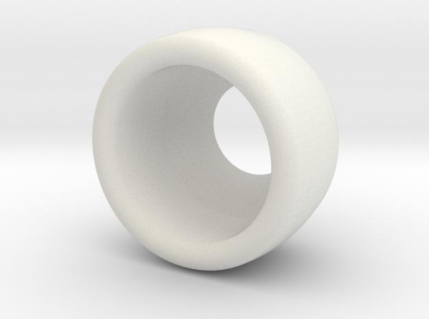 cord stop begleri shell2 in White Natural Versatile Plastic