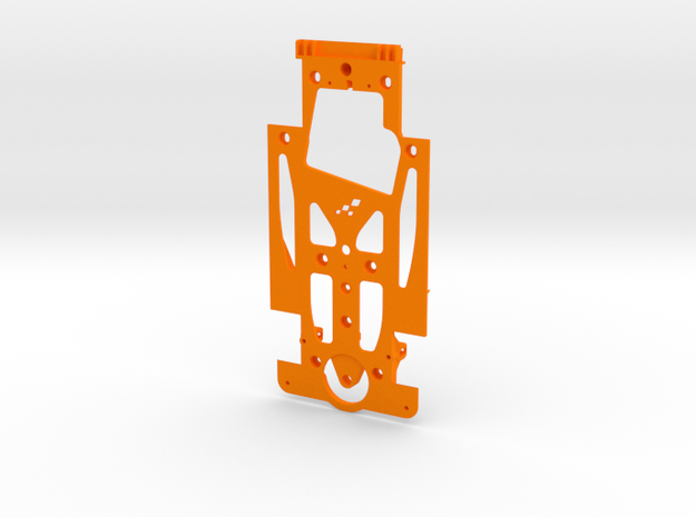SC-9102g Chasis V12 Evo RT4 in Orange Strong & Flexible Polished