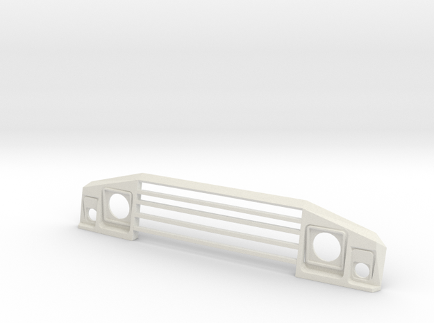 UMM Alter Front Grill in White Strong & Flexible: 1:8