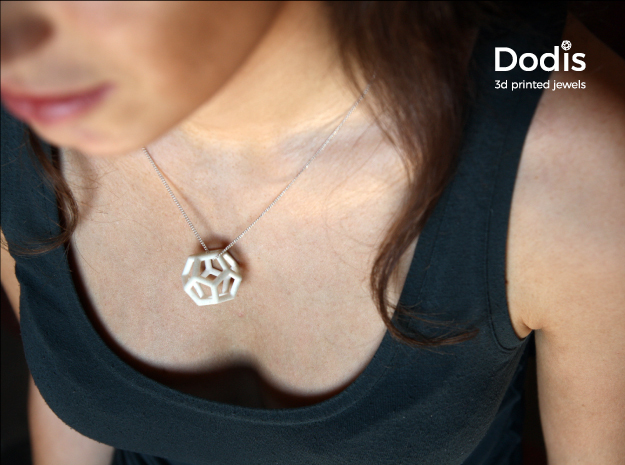 Dodis_pendant in White Natural Versatile Plastic