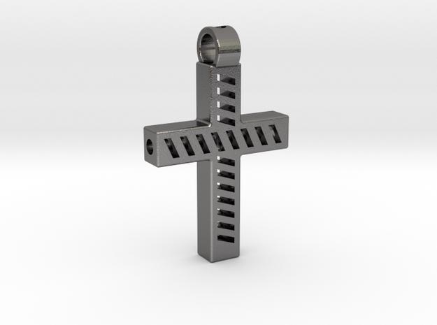 Tritium light cross in Polished Nickel Steel