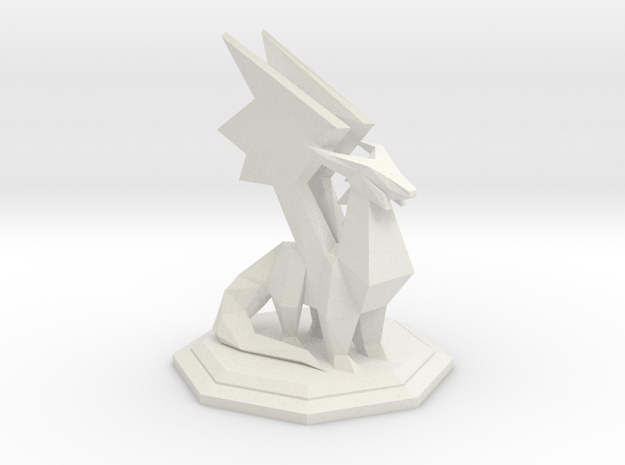 Spyro Crystal Dragon in White Natural Versatile Plastic