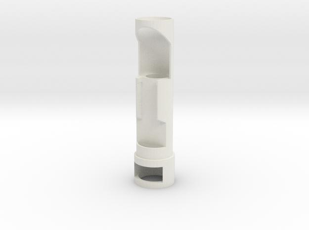 Chassis V3 with chamber star wars lightsaber nano  in White Natural Versatile Plastic