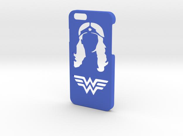 Wonder Woman Phone Case-iPhone 6/6s in Blue Processed Versatile Plastic