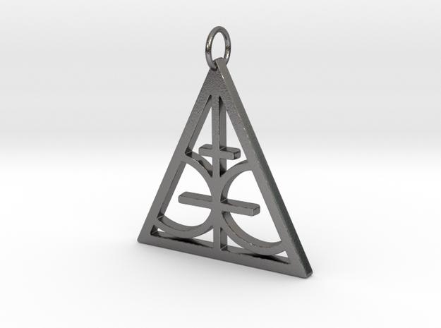 Magic Sigil  in Polished Nickel Steel
